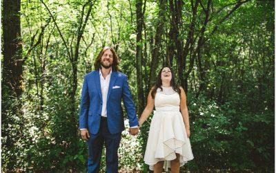 Aimee and Dan Backyard Wedding