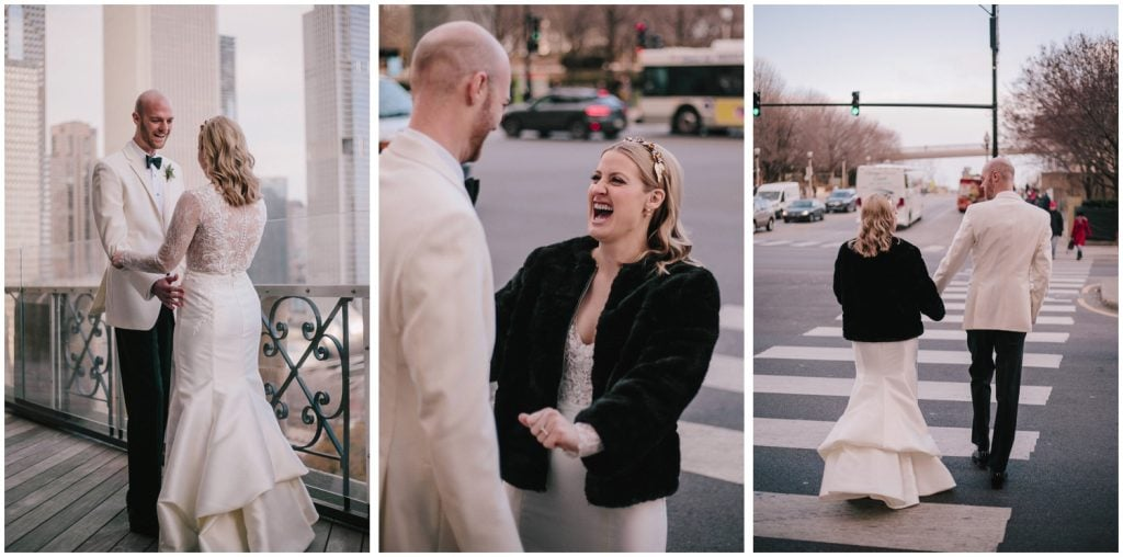 Eclectic Downtown Chicago Winter Wedding This Is Feeling Photography