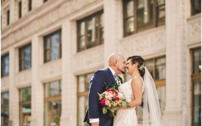 Jessica + Ricardo's Salvage One Chicago Wedding