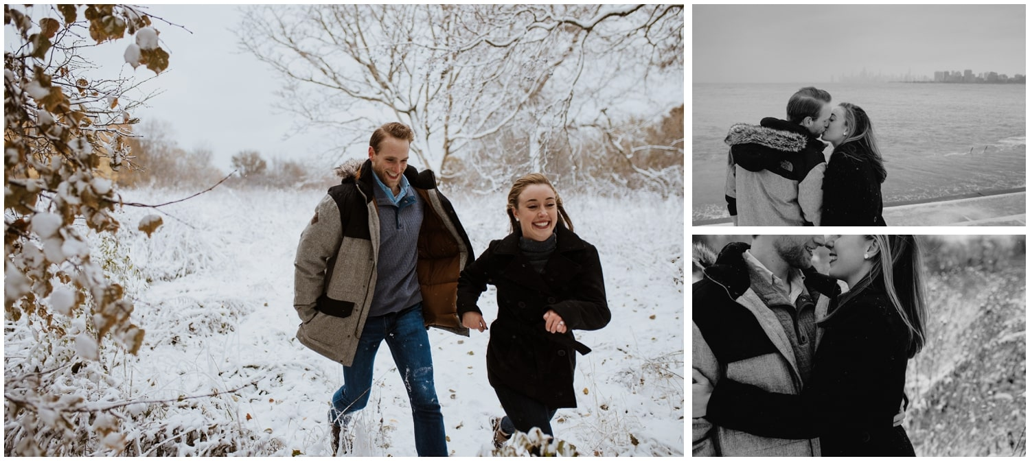 Montrose Harbor Engagement Session This Is Feeling Photography