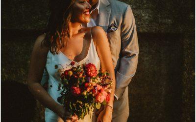Lisa + Steve's COVID Wedding at Las Palmas Chicago