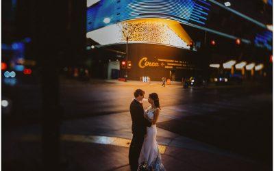 Liyang + Brad's COVID Wedding in Las Vegas